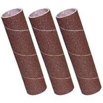 Abrasifs cylindriques 20 x 90 mm, grains 1 x 60, 1 x 80, 1 x 120