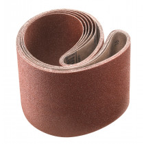5 bandes abrasives 100 x 915 mm, grain 060